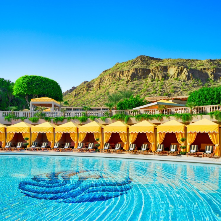 The Phoenician - Canyon Suites Cabana Lined Pool