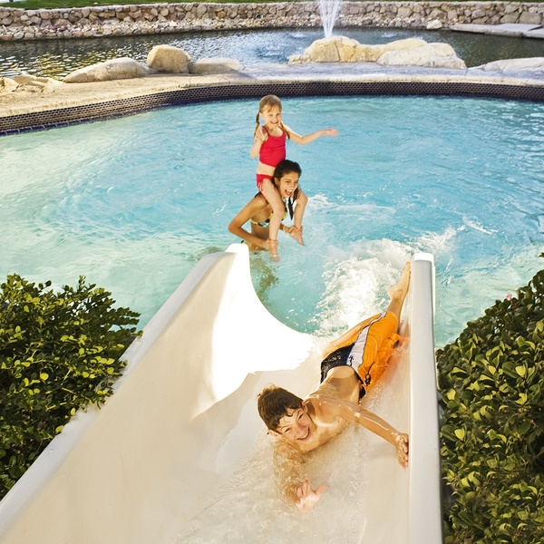 The Phoenician - Canyon Suites Water Slide