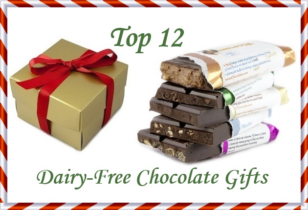 Top 12 Dairy-Free Chocolate Gifts for the Dairy-Free Holidays