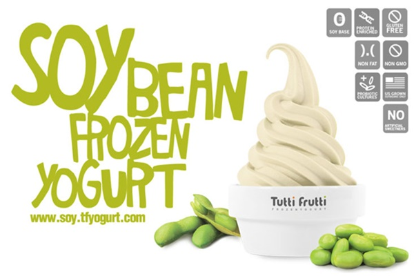 Tutti Frutti Soybean Frozen Yogurt