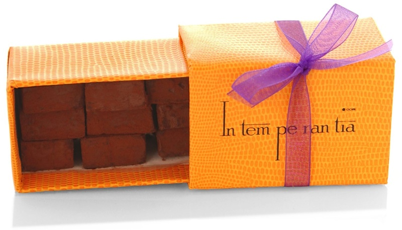 Top Dairy-Free Chocolate Gifts for the Holidays! Pictured: Intemperantia Vegan Pave Glace