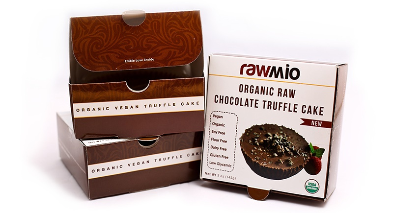 Top Dairy-Free Chocolate Gifts for the Holidays! Pictured: Rawmio's insanely decadent Raw Organic Truffle Cake