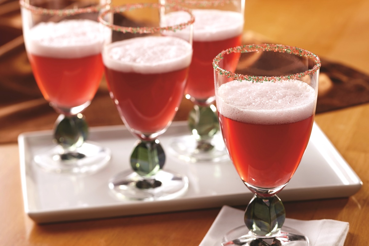 Cranberry Fizz Cocktail Recipe