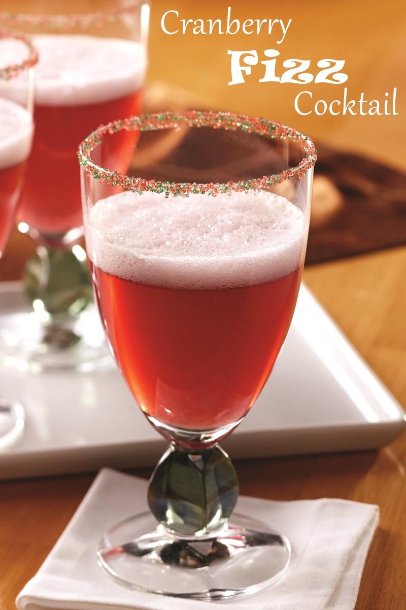 Cranberry Fizz Cocktail Recipe