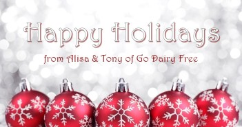A last minute dairy-free holiday guide from GoDairyFree.org