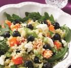 Blueberry, Arugula and Butternut Squash Quinoa