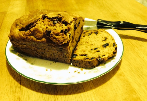 Butternut Squash Bread with Dates