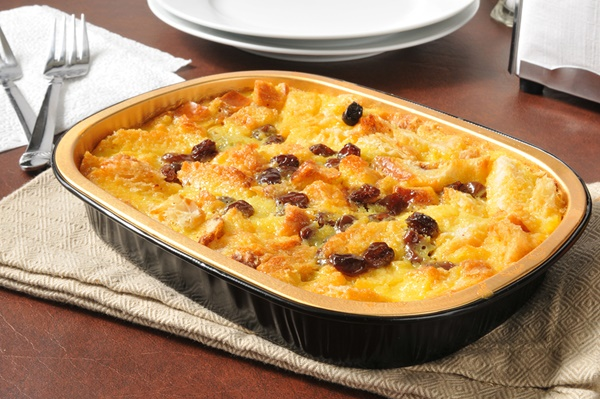 Dairy-Free Bread Pudding Recipe