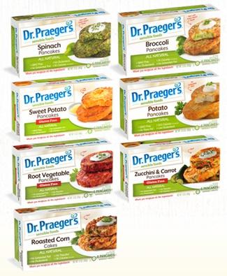 Dr Praegers Veggie Pancakes - 7 sweet and savory dairy-free varieties, with gluten-free options