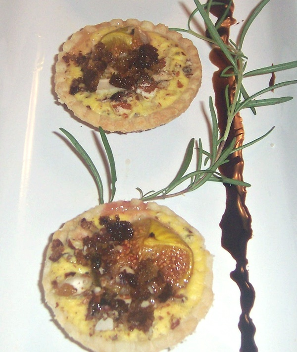 Rosemary Fig and Pancetta Tarts Recipe