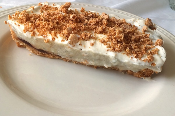 Dairy-Free Banana Cream Tart Recipe