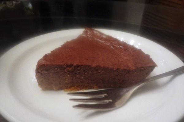 Chocolate Cheesecake with Yogurt