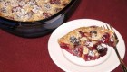 Double Berry Delight Dairy-Free Almond Clafouti