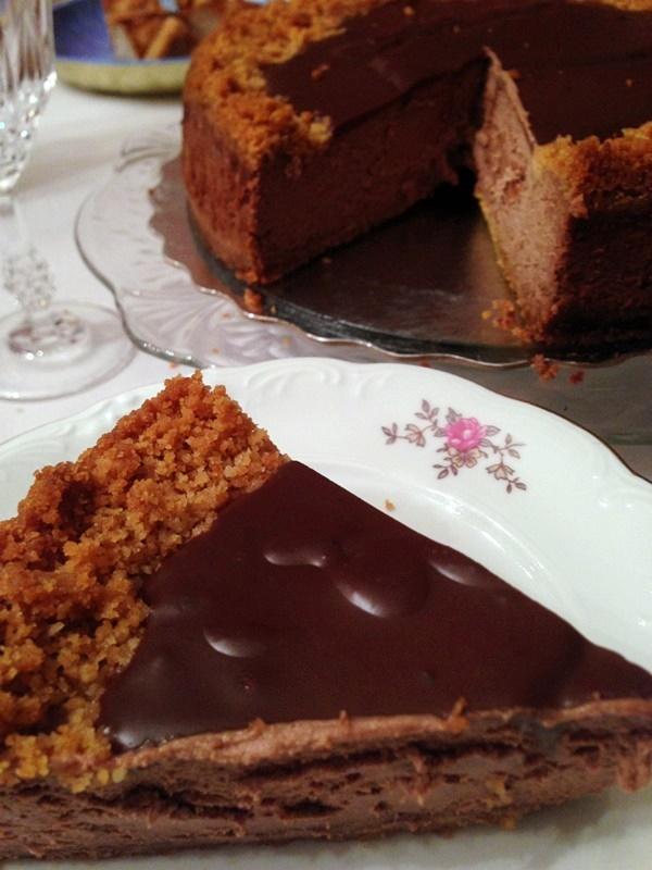 SD Contest - Coconut Chocolate Cheesecake Recipe