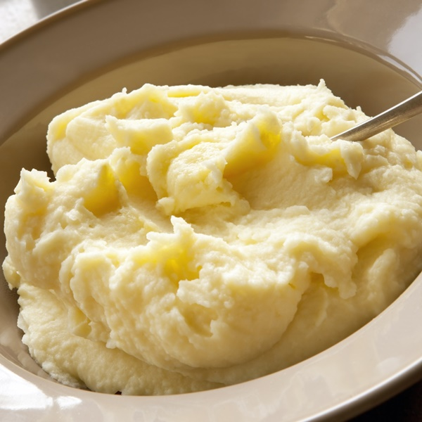 Almond Garlic Mashed Potatoes