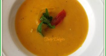Roasted Pepper and Garlic Soup Recipe