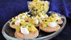 Gluten-free Blinis with Pineapple Salsa