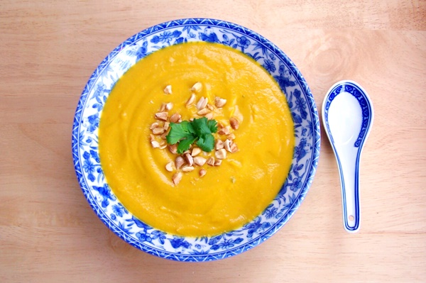 Creamy Sweet Potato Coconut Soup