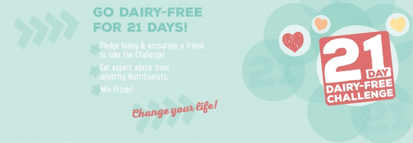 Take the So Delicious 21 Day Dairy-Free Challenge