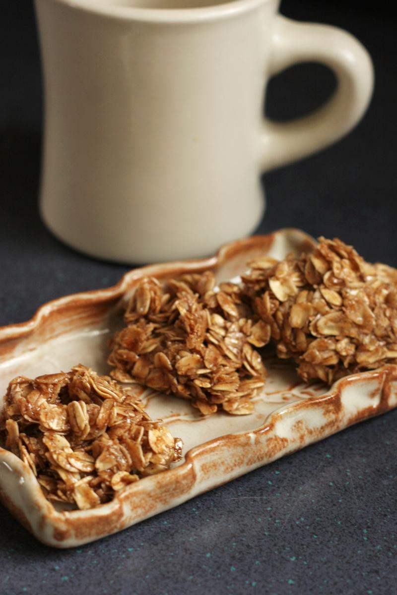Cinnamon Vegan No Bake Cookies Recipe