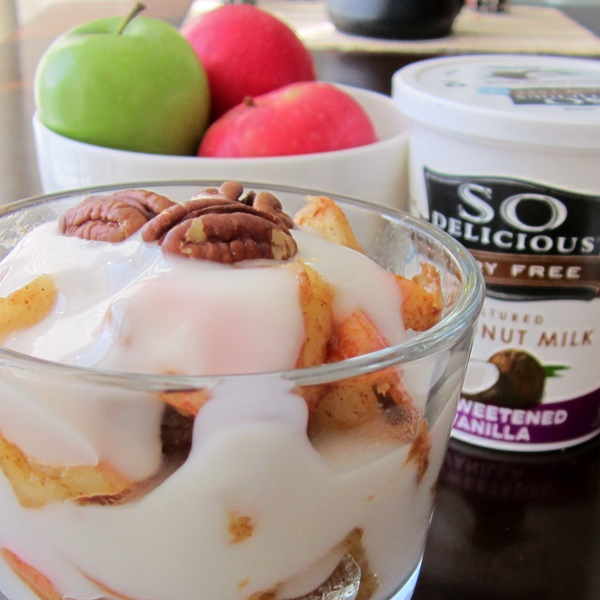 Low-Sugar Dairy-Free Recipes: Apple Pie Breakfast Parfaits