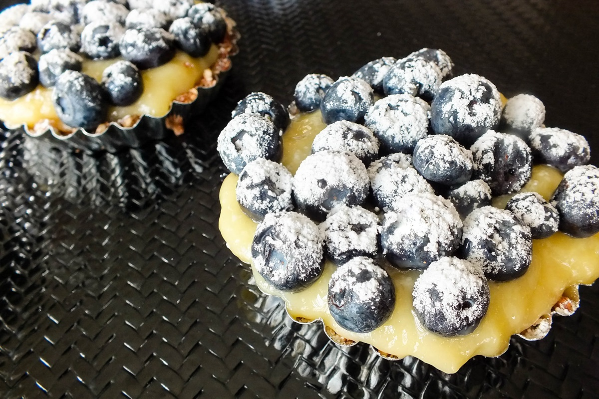 Nutty Citrus Blueberry Tarts Recipe (Dairy-Free!)