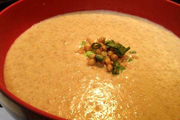 Cream of Lentil Blender Soup