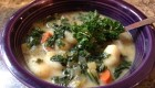 Creamy Kale and Gnocchi Soup