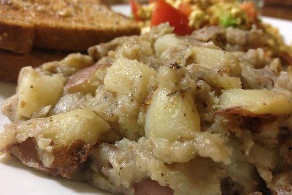 Creamy Potato Hash