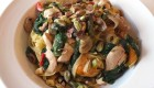 Creamy Spring Vegetables and Chicken Tagliatelle