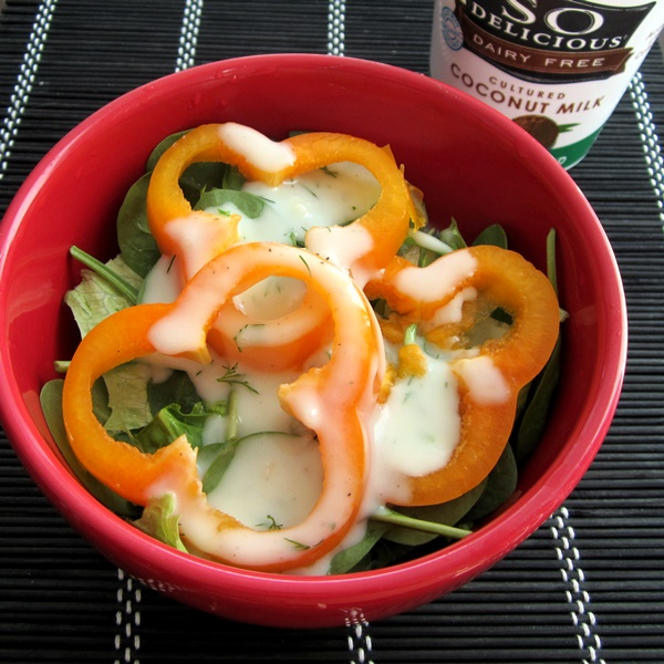 Low-Sugar Dairy-Free Recipes: Yogurt Salad Dressing