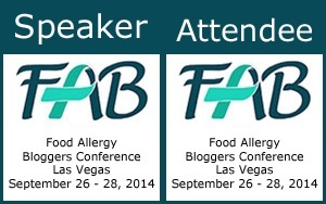 Food Allergy Blogger Conference 2014