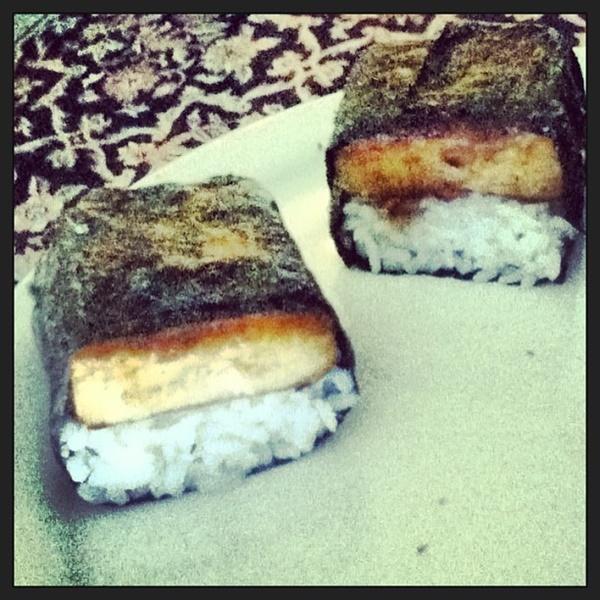 Vegan Musubi with Coconut Rice