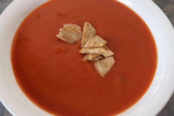 Fiery Red Pepper and Tomato Soup