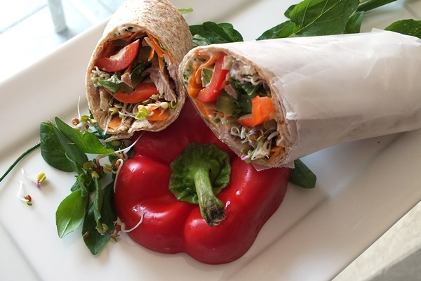 Nutty Mint Wraps