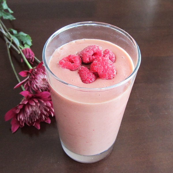 Raspberry Gingerbread Smoothie (Dairy-Free)
