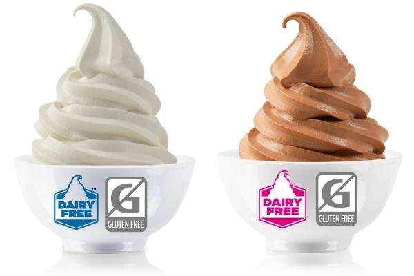 TCBY Vanilla Dairy-Free Frozen Yogurt - Joins Chocolate