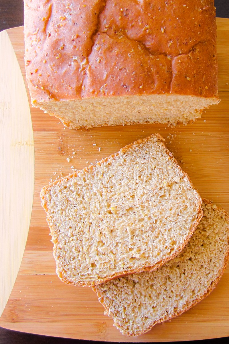 100% Whole Grain Bread (8-Grain Whole Wheat Bread Recipe)