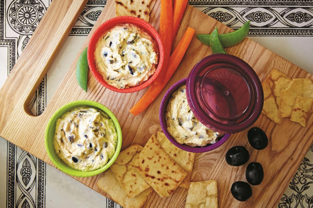 Super Olive Hummus Recipe