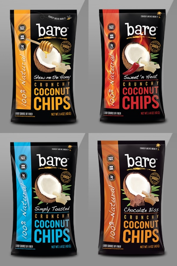 2014 Best New Dairy-Free Products - Bare Crunchy Coconut Chips