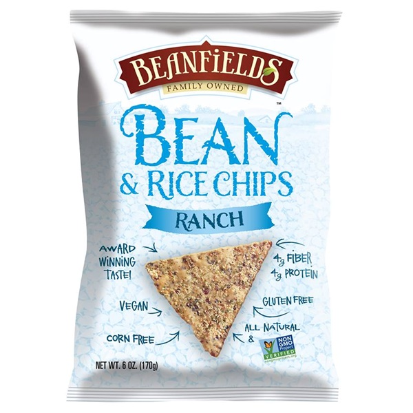 2014 Best New Dairy-Free Products - Beanfields Ranch Tortilla Chips