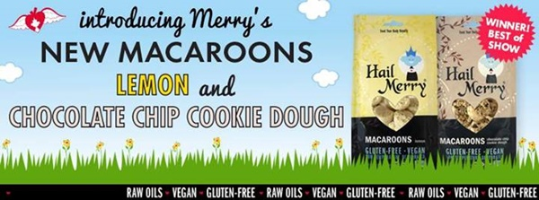 2014 Best New Dairy-Free Products - Hail Merry New Macaroon Flavors