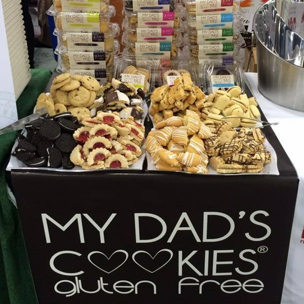 2014 Best New Dairy-Free Products - My Dads Cookies Gluten Free