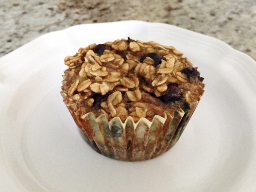 Baked Blueberry Banana Oatmeal Cups: Dairy-Free + Gluten-Free