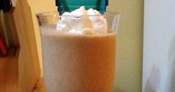 Carrot Cake Coconut Milk Shake