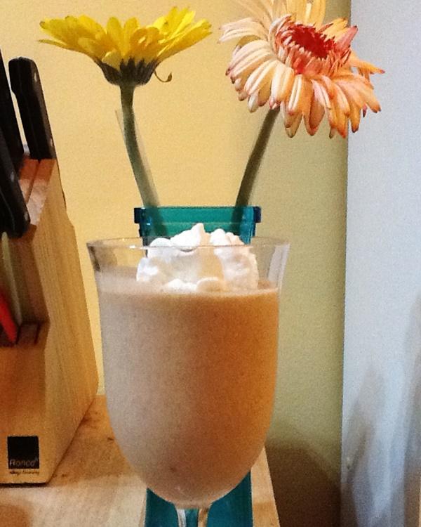 Carrot Cake Coconut Milk Shake