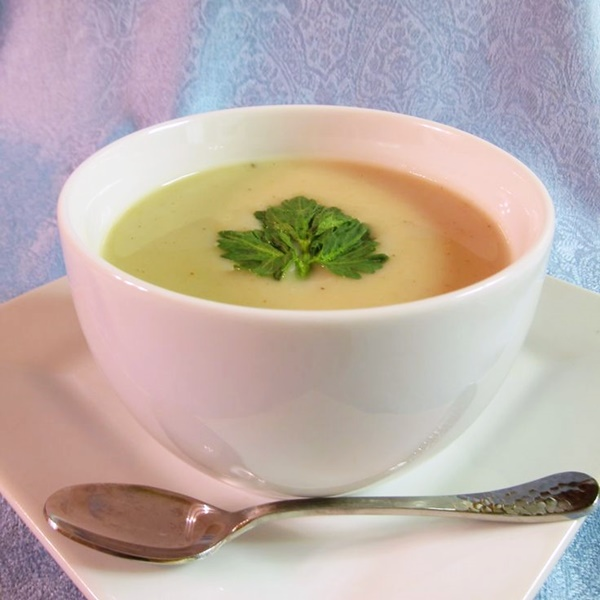 Dairy-Free Cream of Celery Root Soup Recipe