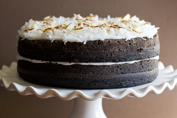 Lactose free chocolate cake icing