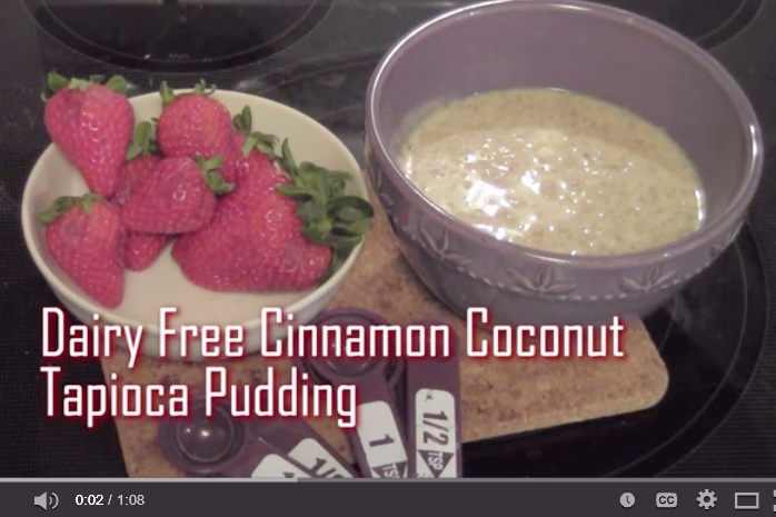 Cinnamon Coconut Tapioca Pudding
