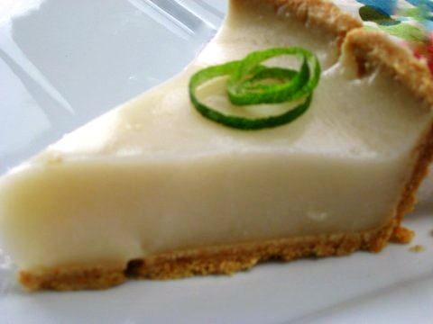 Dairy-Free Coconut Lime Pie